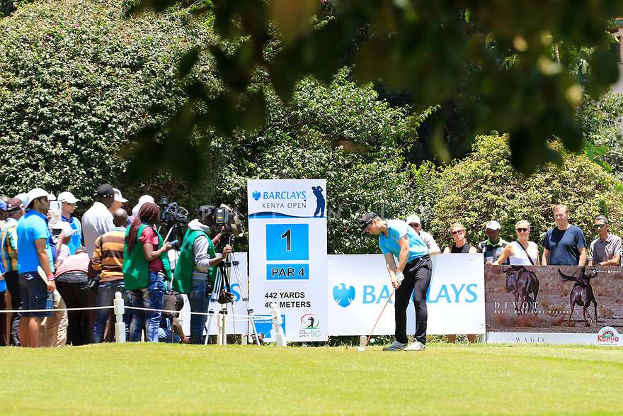 Kristian Krogh Johannessen (NOR) during the third round of the Barclays Kenya Open played at Muthaiga Golf Club, Nairobi, Kenya 22nd - 25th March 2018 (Picture Credit / Phil Inglis) 22/03/2018<br /> <br /> <br /> All photo usage must carry mandatory copyright credit (&copy; Golffile | Phil Inglis)