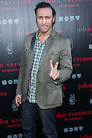 WEST HOLLYWOOD, CA, USA - SEPTEMBER 21: Aasif Mandvi arrives at the John Varvatos #PeaceRocks Ringo Starr Private Concert held at the John Varvatos Boutique on September 21, 2014 in West Hollywood, California, United States. (Photo by Xavier Collin/Celebrity Monitor)