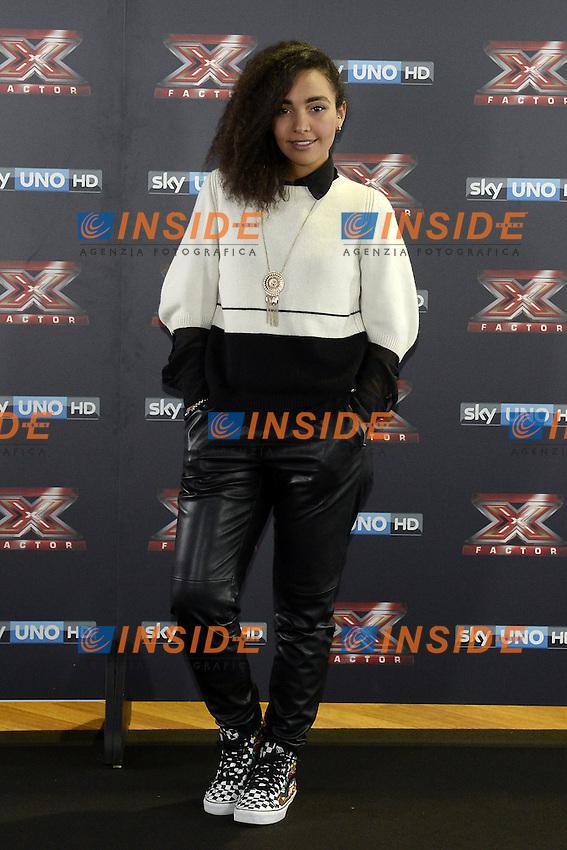 Db Milano 26/10/2016 - photocall trasmissione Tv 'X-Factor' / foto Daniele Buffa/Image/Insidefoto <br /> nella foto: Alessandra Fortes Silva