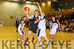 Andrew Fitzgerald Scotts Lakers gets his shot past John Bridges LIT during their National League game in Killarney on Sunday