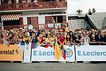 Colombian fans wait for their heroes to arrive at the end of Stage 18 of the 2019 Tour de France running 208km from Embrun to Valloire, France. 25th July 2019.<br /> Picture: ASO/Thomas Maheux | Cyclefile<br /> All photos usage must carry mandatory copyright credit (© Cyclefile | ASO/Thomas Maheux)