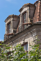 Europe/France/Aquitaine/64/Pyrénées-Atlantiques/Pays-Basque/Saint-Jean-de-Luz: rue Mazarin - Maison des trois canons