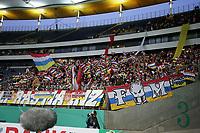 07.02.2018, Commerzbank Arena, Frankfurt, GER, DFB-Pokal, Eintracht Frankfurt vs FSV Mainz 05<br /> , <br /> Karneval evrkleidete Mainzer Fans in Frankfurt *** Local Caption *** © pixathlon<br /> Contact: +49-40-22 63 02 60 , info@pixathlon.de