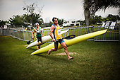 Competidores de kayak participan en la competencia de maraton durante los Juegos Mundiales 2013 en en Club Los Andes Coomeva en Cali, Colombia, jueves 1 de agosto 2013.<br /> Foto: Coldeportes/Archivolatino<br /> <br /> COPYRIGHT: Coldeportes. Imagen distribuida para difusi&radic;&ge;n de los Juegos Mundiales 2013. Prohibida su venta y uso comercial.