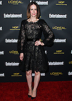 WEST HOLLYWOOD, CA, USA - AUGUST 23: Sarah Paulson arrives at the 2014 Entertainment Weekly Pre-Emmy Party held at the Fig & Olive on August 23, 2014 in West Hollywood, California, United States. (Photo by Xavier Collin/Celebrity Monitor)