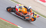 134.06.2014 Barcelona, Spain. GP Monster Energy de Catalunya. Saturday Qualifying 2. Picture show Poleman, Dani Pedrosa ridding Honda RC213V , Repsol Honda Team at Circuit de Barcelona-Catalunya