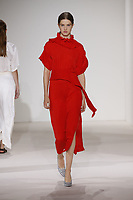 Victoria Beckham<br /> catwalk fashion show at New York Fashion Week<br /> Spring Summer 2018<br /> in New York, USA September 2017.<br /> CAP/GOL<br /> &copy;GOL/Capital Pictures
