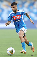 Lorenzo Insigne of Napoli in action during the Serie A football match between SSC  Napoli and SPAL at stadio San Paolo in Naples ( Italy ), June 28th, 2020. Play resumes behind closed doors following the outbreak of the coronavirus disease. <br /> Photo Cesare Purini / Insidefoto