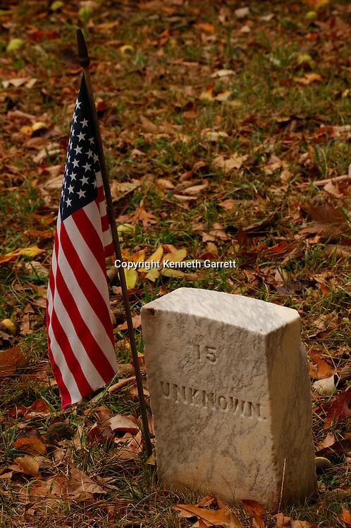 Balls Bluff Cemetery, Virginia, VA