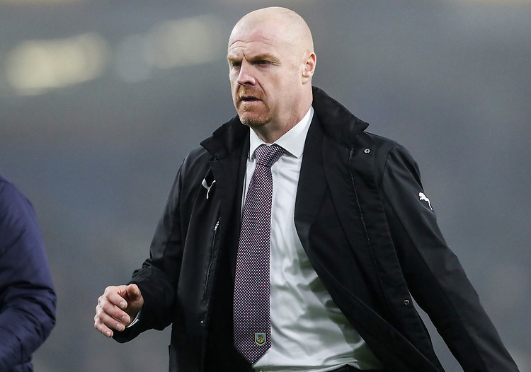 Burnley's manager Sean Dyche <br /> <br /> Photographer Andrew Kearns/CameraSport<br /> <br /> The Premier League - Burnley v Liverpool - Wednesday 5th December 2018 - Turf Moor - Burnley<br /> <br /> World Copyright &copy; 2018 CameraSport. All rights reserved. 43 Linden Ave. Countesthorpe. Leicester. England. LE8 5PG - Tel: +44 (0) 116 277 4147 - admin@camerasport.com - www.camerasport.com