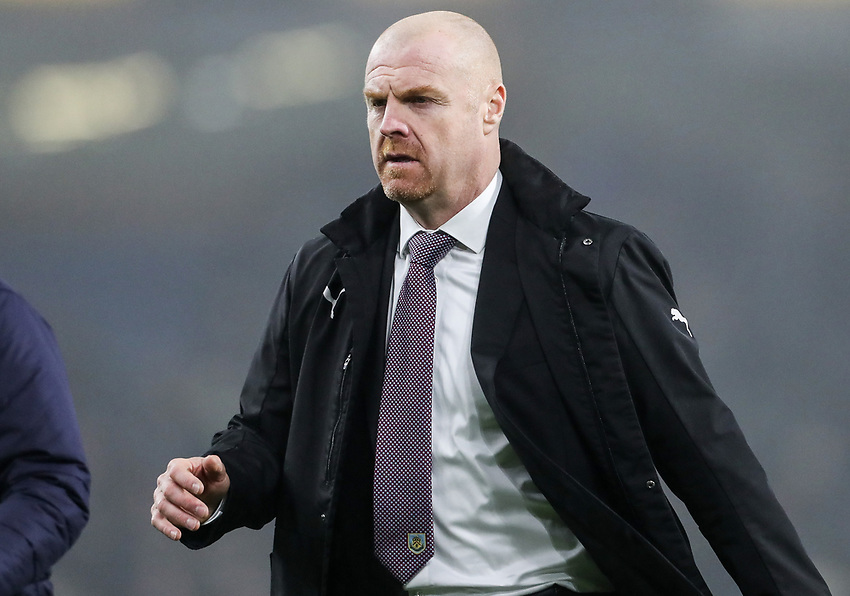 Burnley's manager Sean Dyche <br /> <br /> Photographer Andrew Kearns/CameraSport<br /> <br /> The Premier League - Burnley v Liverpool - Wednesday 5th December 2018 - Turf Moor - Burnley<br /> <br /> World Copyright © 2018 CameraSport. All rights reserved. 43 Linden Ave. Countesthorpe. Leicester. England. LE8 5PG - Tel: +44 (0) 116 277 4147 - admin@camerasport.com - www.camerasport.com