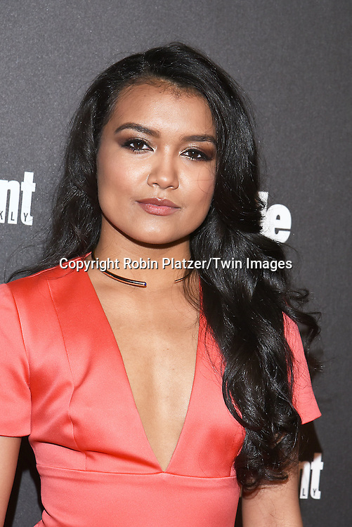 Jamila Velazquez attends the Entertainment Weekly &amp; PEOPLE Magazine New York Upfronts Celebration on May 16, 2016 at Cedar Lake in New York, New York, USA.<br /> <br /> photo by Robin Platzer/Twin Images<br />  <br /> phone number 212-935-0770