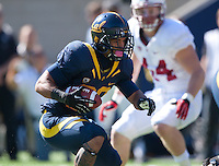 October 20th, 2012: California's Isi Sofele in action during a game against Stanford at Memorial Stadium at Berkeley, Ca   Stanford defeated California 21 - 3