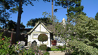 CARMEL - APR 29: Hansel and Gretel cottages in Carmel, California on April 29, 2011.