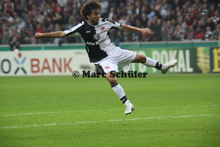 Takashi Inui(Eintracht) - Eintracht Frankfurt vs. VfL Bochum, Commerzbank Arena, 2. Runde DFB-Pokal