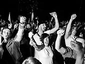 Warsaw July 21, 2017 Poland<br /> People shout slogans during a protest against supreme court legislation outside the Parliament in Warsaw.<br /> Photo: Adam Lach / Napo Images / FORUM<br /> <br /> Warszawa, Protest przed Senatem w obronie sadu najwyzszego. Tysiace ludzi zebranych pod oknami senatu, manifestowalo przeciwko wprowadzanej uchwaly wsp sadu najwyzszego.<br /> Fot: Adam Lach / Napo Images
