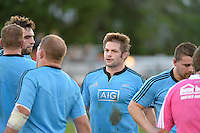 Richie McCaw in action during the 2013 All Blacks Training Games - All Blacks v Wellington Lions at Hutt Recreation Ground, Lower Hutt, New Zealand on Friday 9 August 2013.<br />