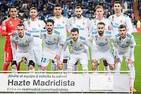 Real Madrid  during La Liga match between Real Madrid and Getafe CF  at Santiago Bernabeu Stadium in Madrid , Spain. March 03, 2018. (ALTERPHOTOS/Borja B.Hojas) /NortePhoto.com NORTEPHOTOMEXICO