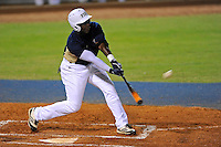 2 March 2012:  FIU outfielder Jabari Henry (14) hits early in the game as the FIU Golden Panthers defeated the Brown University Bears, 6-5, at University Park Stadium in Miami, Florida.