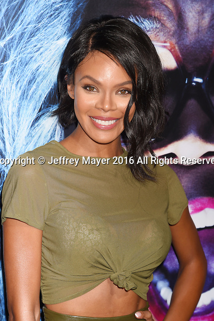 HOLLYWOOD, CA - OCTOBER 17: Actress/model Crystle Stewart attends the premiere of Lionsgate's 'Boo! A Madea Halloween' at the ArcLight Cinerama Dome on October 17, 2016 in Hollywood, California.