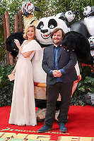 Kate Hudson and Jack Black<br /> arriving for the &quot;Kung Fu Panda 3&quot; European premiere at the Odeon Leicester Square, London<br /> <br /> <br /> &copy;Ash Knotek  D3093 06/03/2016