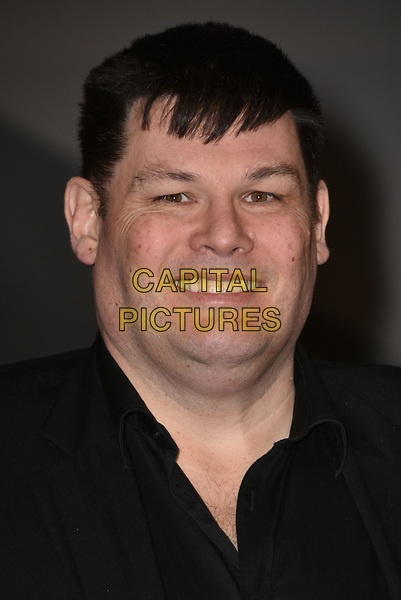 Mark Labbett  attending the National Television Awards 2018 at The O2 Arena on January 23, 2018 in London, England. <br /> CAP/Phil Loftus<br /> &copy;Phil Loftus/Capital Pictures