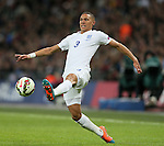 England's Kieran Gibbs in action<br /> <br /> - International European Qualifier - England vs Slovenia- Wembley Stadium - London - England - 15th November 2014  - Picture David Klein/Sportimage