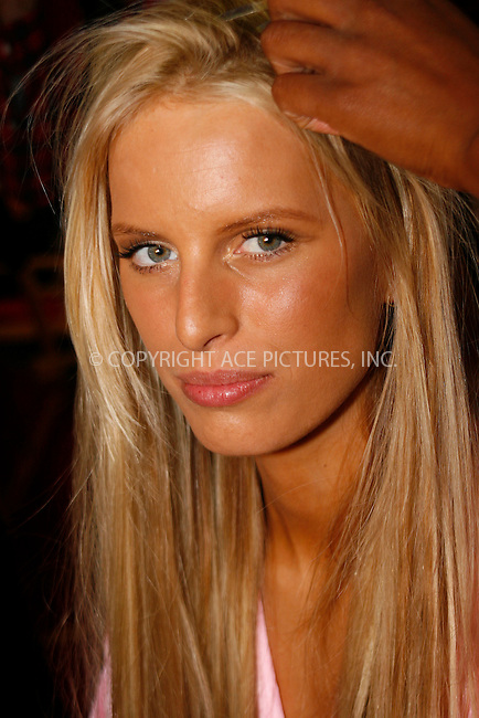 WWW.ACEPIXS.COM . . . . .  ....November 10 2010, New york City....Karolina Kurkova has hair and make up done prior to the 2010  Victoria's Secret runway show at the Lexington Armoury on November 10 2010 in New York City....Please byline: NANCY RIVERA- ACEPIXS.COM.... *** ***..Ace Pictures, Inc:  ..Tel: 646 769 0430..e-mail: info@acepixs.com..web: http://www.acepixs.com