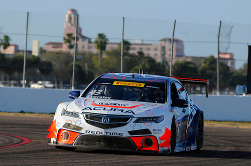10-13 March, 2016, St Petersburg, Florida, USA<br /> #43 Ryan Eversley, Acura TLX-GT<br /> © 2016, Jay Bonvouloir, ESCP