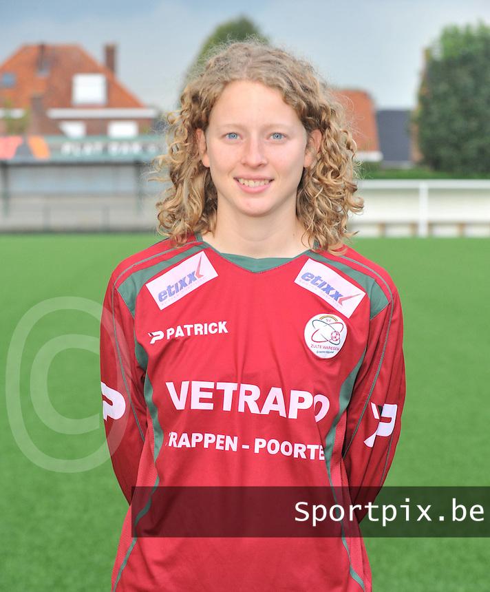 SV Zulte-Waregem Dames : Francoise Delcoigne.foto VDB / BART VANDENBROUCKE