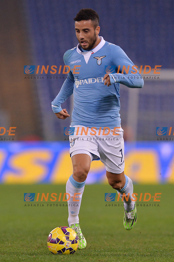 Felipe Anderson Lazio.<br /> Roma 22-11-2014 Stadio Olimpico. Football Calcio 2014/2015 Serie A. Lazio - Juventus. Foto Antonietta Baldassarre / Insidefoto