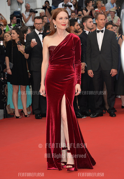 Julianne Moore at the gala premiere of &quot;Mad Max: Fury Road&quot; at the 68th Festival de Cannes.<br /> May 14, 2015  Cannes, France<br /> Picture: Paul Smith / Featureflash