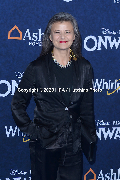 "LOS ANGELES - FEB 18:  Tracey Ullman at the ""Onward"" Premiere at the El Capitan Theater on February 18, 2020 in Los Angeles, CA"