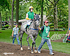 Deciding  with Liz Lalor before The International Ladies Fegentri  group at Delaware Park racetrack on 6/9/14