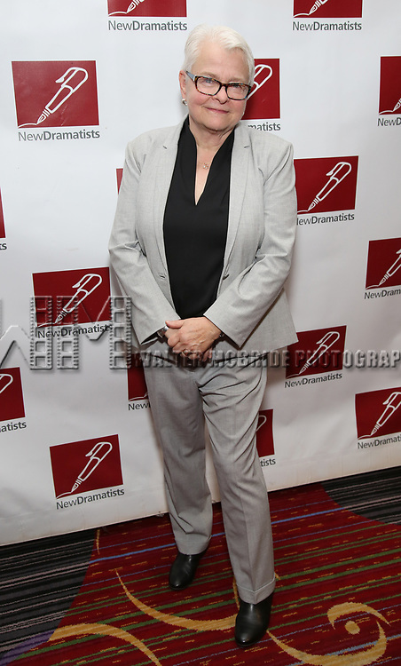 Paula Vogel attends The New Dramatists' 68th Annual Spring Luncheon at the Marriott Marquis on May 16, 2017 in New York City.