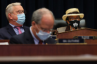 United States House Education and Labor Committee   Workforce Protections Subcommittee Chair US Representative Alma Adams (Democrat of North Carolina) (R) and fellow committee members wear face masks to prevent the chance of transmission of coronavirus during a hearing about the federal government's role in protecting workers during the pandemic on Capitol Hill May 28, 2020 in Washington, DC. More than 62,000 health care workers have been infected with COVID-19 and close to 300 have died according to the U.S. Centers for Disease Control.<br /> Credit: Chip Somodevilla / Pool via CNP/AdMedia