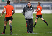 14th September 2017, Alexandra Park, Auckland, New Zealand; New Zealand Rugby Training Session;  All Blacks coach Steve Hansen