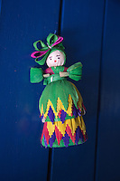 Corn Husk Doll at The Hacienda San Lucas, Ruinas Copan, Honduras