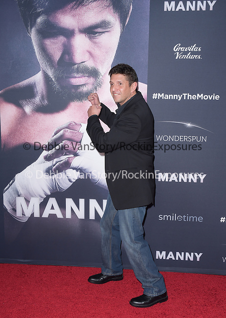Alex Ariza attends The Los Angeles premiere of<br /> MANNY at The TCL Chinese Theater  in Hollywood, California on January 20,2015                                                                               © 2015 Hollywood Press Agency