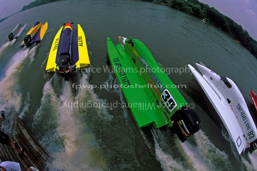 Start SST-120, J.R. Saffold #63, Bill May #71, Richard Hearn #12, Wyatt Nelson, #39, SST-120, Augusta, GA, May 1998