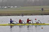 034 MarlowRC W.MasB.4x‐..Marlow Regatta Committee Thames Valley Trial Head. 1900m at Dorney Lake/Eton College Rowing Centre, Dorney, Buckinghamshire. Sunday 29 January 2012. Run over three divisions.