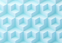 Full frame abstract three dimensional geometric pattern