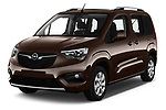 2019 Opel Combo-Life Innovation 5 Door Mini Mpv Angular Front automotive stock photos of front three quarter view