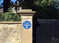 BNPS.co.uk (01202 558833)<br /> Pic: David Ridgway/BNPS<br /> <br /> A Blue Plaque has been put up at the school.<br /> <br /> The nephew of Sir Alan Turing has called for his valuable possessions to be returned to the school they were stolen from 36 years ago after they were rediscovered by the FBI in the US.<br /> <br /> The Enigma codebreaker's Princeton degree, OBE medal and some of his school reports and letters were gifted by his mother Ethel to Sherborne School in Dorset in the 1960s.<br /> <br /> The items were taken in 1984 with an apology note left in their place saying they will be 'well taken care of' and one day 'returned to this spot'.<br /> <br /> Remarkably, they have now been discovered in the home of a woman in Denver, Colorado, during an FBI search.