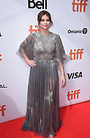"""TORONTO, ONTARIO - SEPTEMBER 08: Felicity Jones attends """"The Aeronauts"""" premiere during the 2019 Toronto International Film Festival at Roy Thomson Hall on September 08, 2019 in Toronto, Canada. <br /> CAP/MPIIS<br /> ©MPIIS/Capital Pictures"""