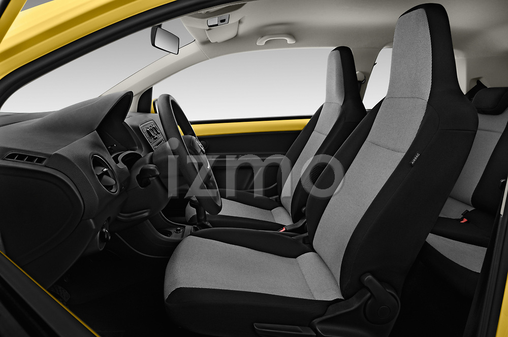 Front seat view of 2016 Skoda Citigo Ambition 3 Door hatchback Front Seat  car photos