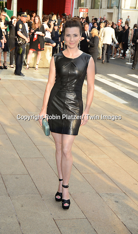 Linda Cardellini  attends The 2013 CFDA Fashion Awards on June 3, 2013 at Alice Tully Hall in New York City.