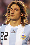 June 04 2008:  Fabricio Coloccini (Deportivo La Coruna / SPA) (22) of Argentina.  During Mexico's 2008 USA Tour in preparation for qualification for FIFA's 2010 World Cup, the national soccer team of Mexico was defeated by Argentina 1-4 at Qualcomm Stadium, in San Diego, CA.