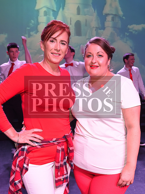 Carol Meehan and Lyndsey Turner who took part in the Strictly Come Dancing in aid of SOSAD. Photo:Colin Bell/pressphotos.ie