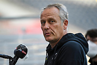 Trainer Joachim Streich (SC Freiburg) - 26.05.2020 Fussball 1.Bundesliga Spieltag 28, Eintracht Frankfurt  - SC Freiburg emspor, <br /> <br /> Foto: Jan Huebner/Pool/ Via Marc Schueler/Sportpics.de<br /> (DFL/DFB REGULATIONS PROHIBIT ANY USE OF PHOTOGRAPHS as IMAGE SEQUENCES and/or QUASI-VIDEO), Editorial use only. National and International News Agencies OUT